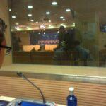 Interpretación simultánea Estadio Santiago Bernabéu (Real Madrid) - 2014. Rueda de Prensa post-partido