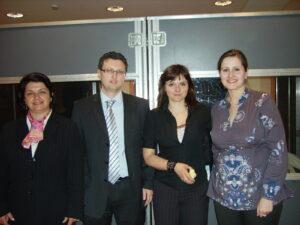 Las compañeras de polaco y búlgaro